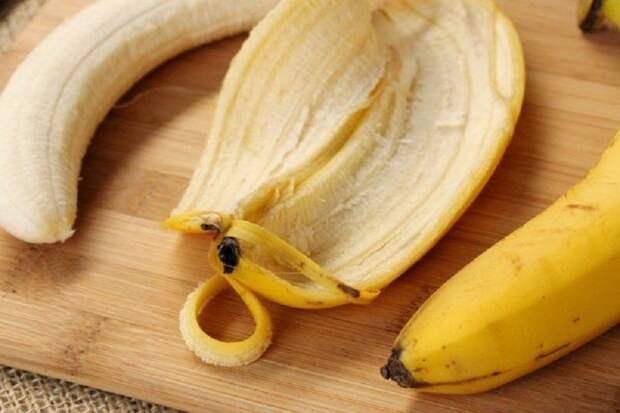 польза кожуры банана