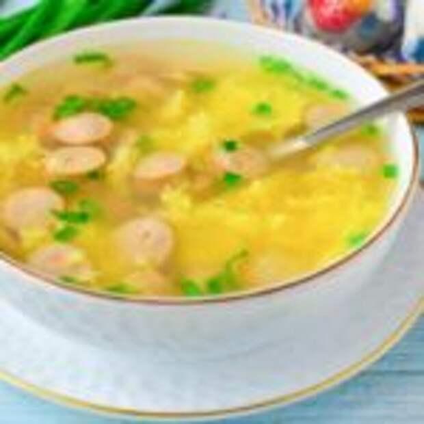Простой суп за 10 минут