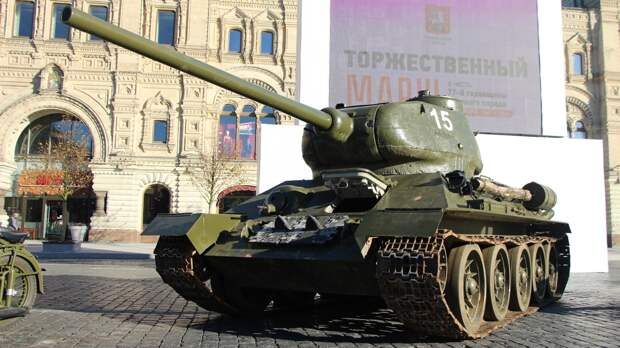 Обзор основных танков и САУ советских солдат в годы Великой Отечественной