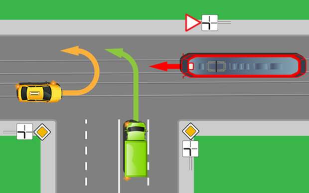 И пусть трамвай подождет – проверь себя на знание ПДД