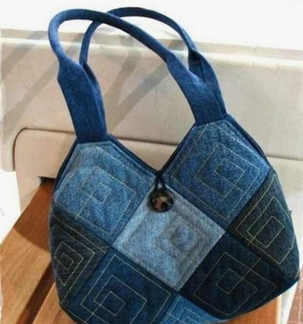 Даже из лоскутов может получиться симпатичная и оригинальная сумка. Черпайте идеи!