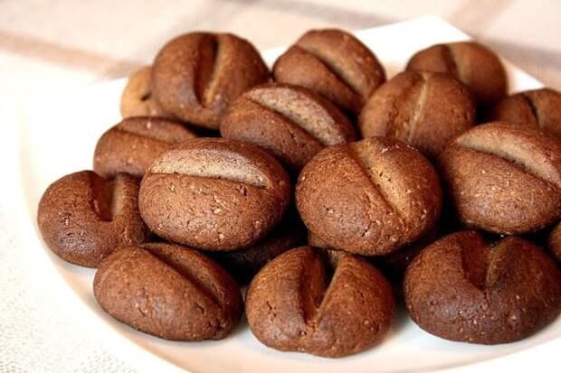 Печенье Кофейные зёрна. Шикарное лакомство для семейного чаепития 2