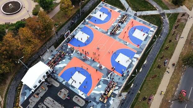 Первый в России центр уличного баскетбола открыли в Туле. Его сможет посетить любой желающий