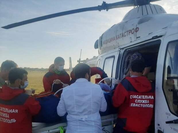 Выжившую при пожаре в Севастополе девочку отправили на лечение в Краснодар