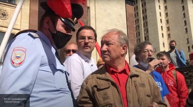 Повышение рейтингов и привлечение внимания: Рашкин устроил наглую провокацию у здания МГУ