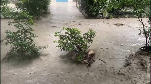 Власти Ялты закрыли город из-за сильнейшего потопа