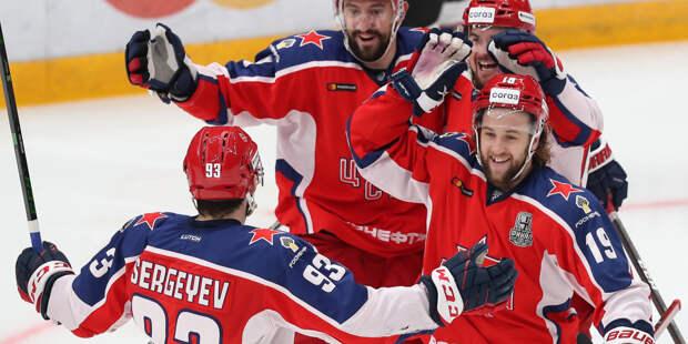 ЦСКА обыграл «Авангард» и сравнял счет в финальной серии Кубка Гагарина