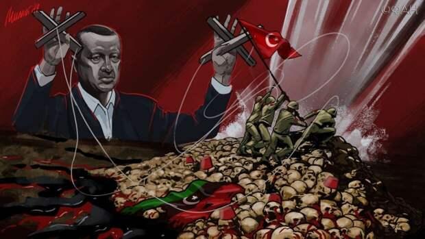 Спецслужбы Турции защищают отправку сирийских боевиков в Ливию атаками на Россию