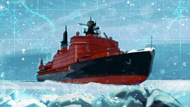 В Fox News объяснили, почему ледокольный флот России стал проблемой для Байдена