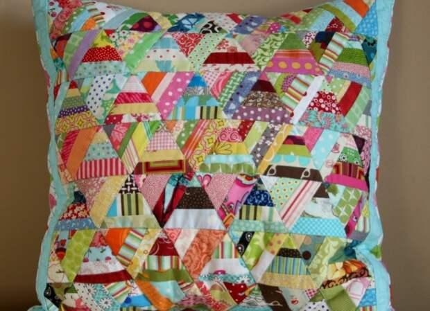 Как сшить наволочку на подушку