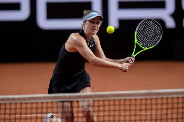 Свитолина оказалась сильнее Анисимовой в 1/16 финала турнира в Риме