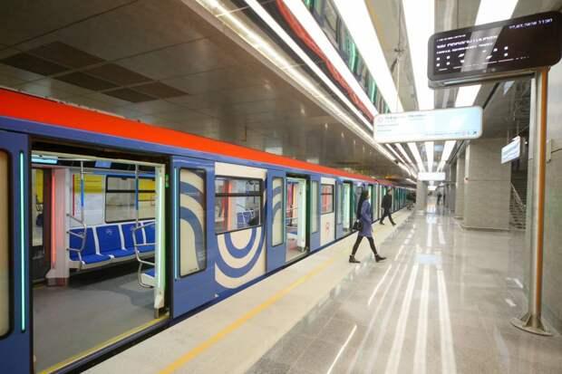 Движение поездов в сторону «Строгино» восстановлено после инцидента с пассажиром