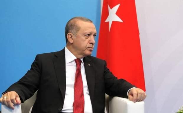 «Роскошный ответ»: Эрдоган прокомментировал конфликт Байдена с Путиным
