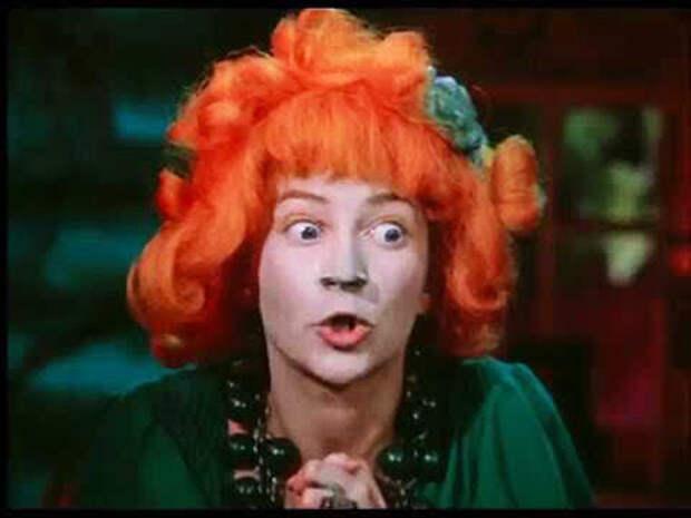 кадр из фильма «Новогодние приключения Маши и Вити», (1975)