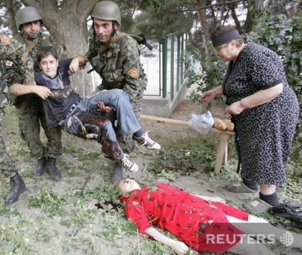 Разоблачение грузинских снимков для западной прессы (8 фото)