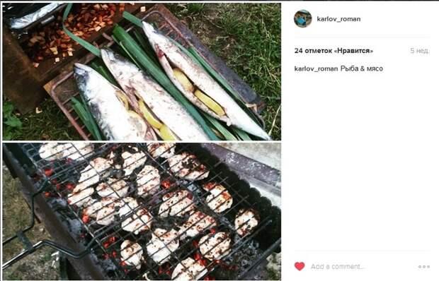 Параллельно жарим мясо и коптим рыбу по рецептам Фишкнян горка, дача, песочница, своими руками, сделай сам, семья