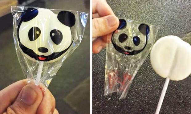 Конфетка-панда? еда, кругом обман, продукты