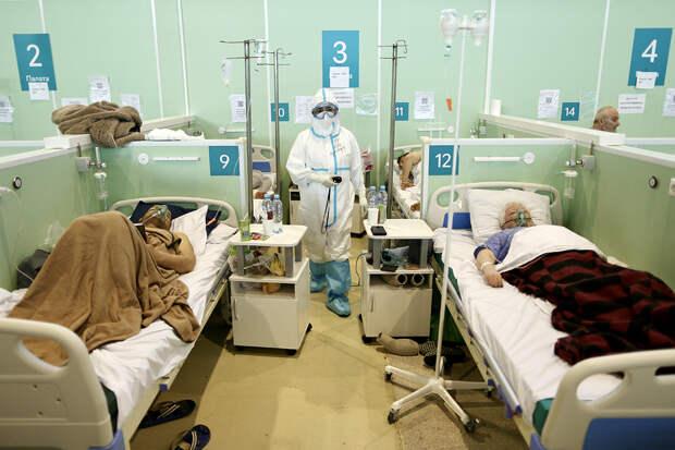 В России за сутки выявили 9289 заражённых COVID-19