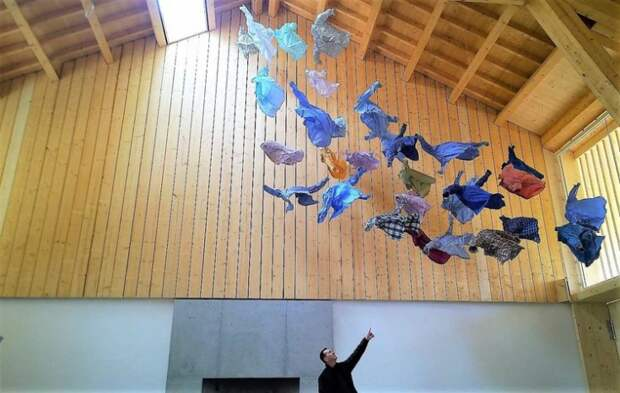 Текстильные скульптуры Kaarina Kaikkonen