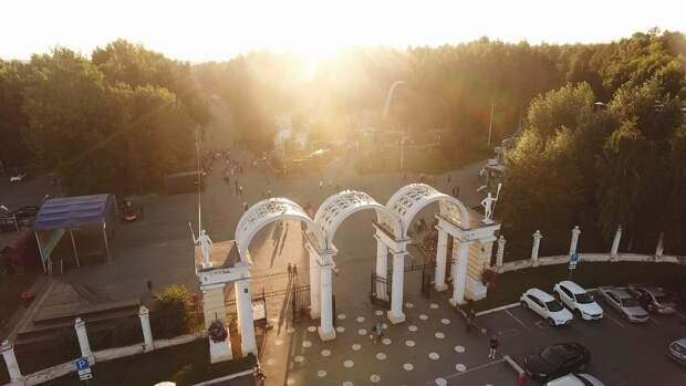 Парк Кирова в Ижевске после ликвидации утечки хлора открыт для посещений