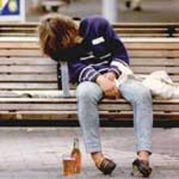 Пивной алкоголизм у подростков.