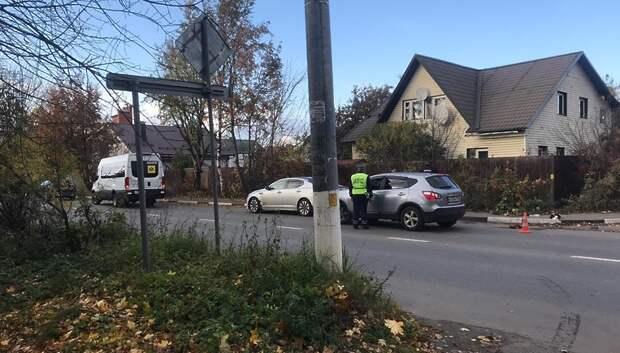 В Подольске скончался пожилой мужчина, которого сбил микроавтобус