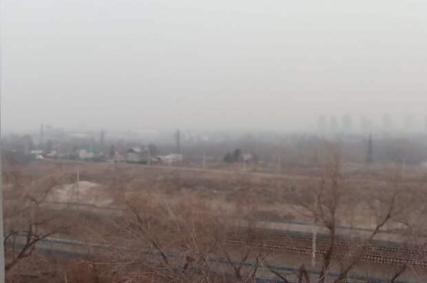 Челябинскую область накрыло дымкой из-за лесных пожаров