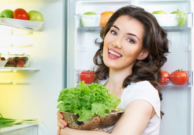 еда, холодильник, дувушка