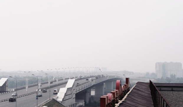ВТюмени из-за гари исмога снова проверили воздух