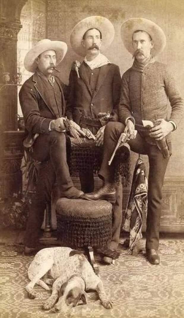 Любопытные фото с Дикого Запада