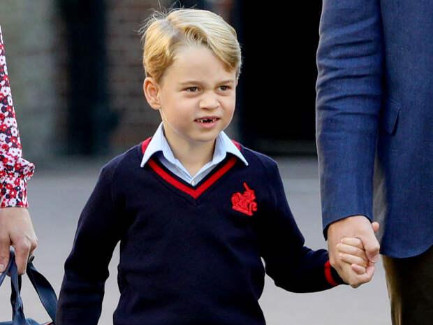Сын Кейт Миддлтон повторяет судьбу принца Гарри