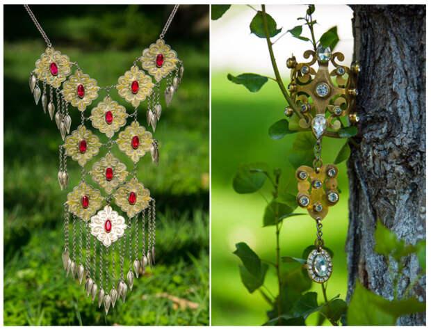 Ювелирные изделия туркменов отличают монументальность и в то же время вкус и простота. /Фото:orient.tm