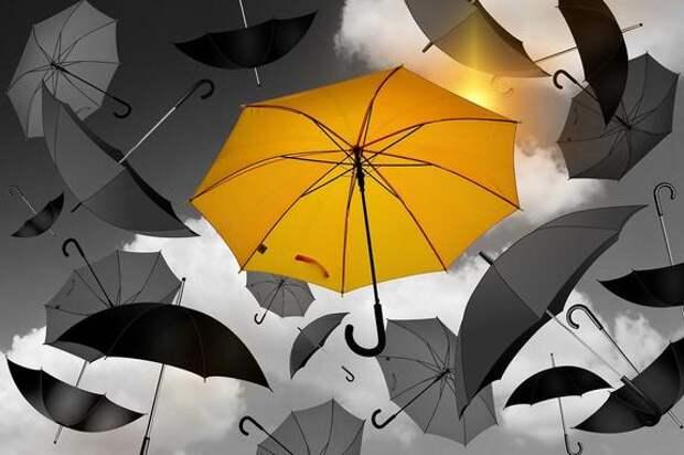 В Москве дождь в субботу будет идти целый день. Ожидаются гроза и сильный ветер