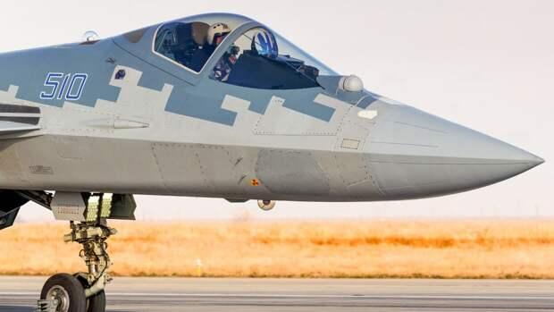 Российский Су-57 доработают для управления группами ударных и разведывательных БПЛА