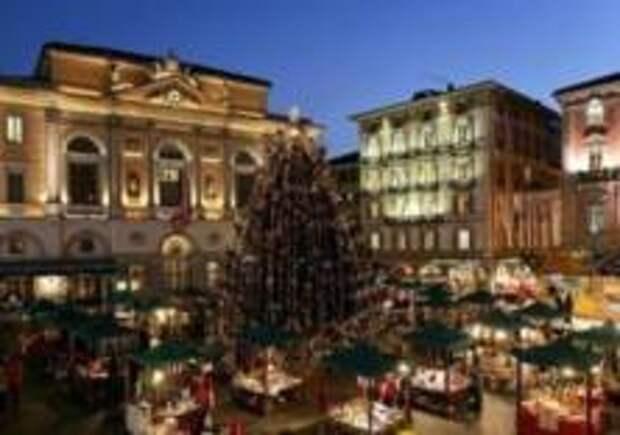 Швейцарцы встретят Рождество под пальмами