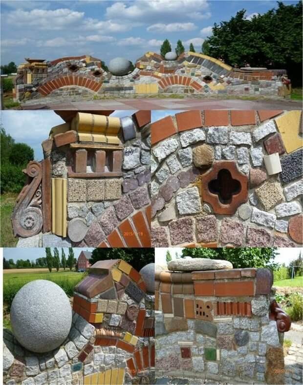 20 очень дорогих заборов  практически из того, что под руку подвернулось Фабрика идей, дорогие, забор, интересное, камни, кирпич, красиво