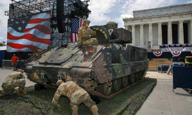 Трамп опозорился на Дне Независимости из-за ржавого хлама