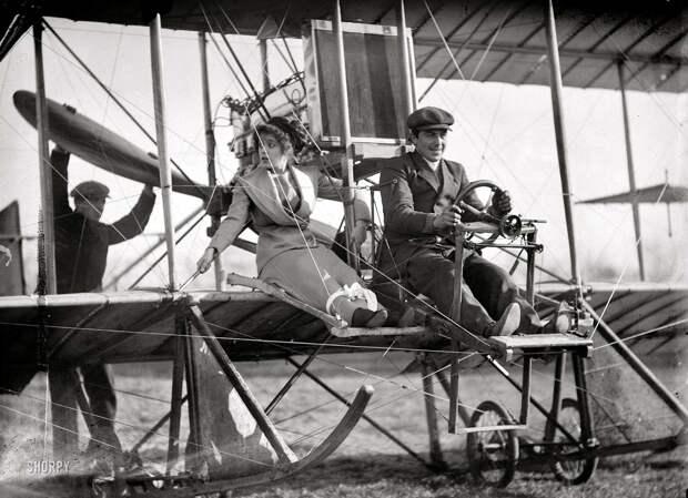 Самолеты и пилоты начала 20-го века на снимках американских фотографов (0)