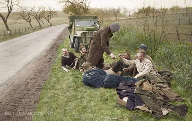 Как американцы продали бельгийцам в угольные шахты наших военнопленных. 1945 г.