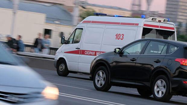 В Челябинской области водитель сбил двух девочек на переходе