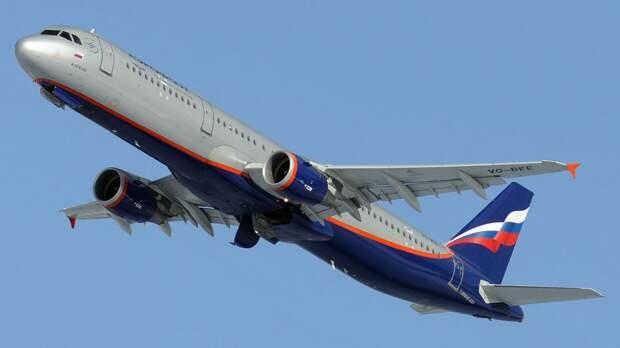 Датчик неисправности сработал на летевшем из Симферополя в Москву самолете