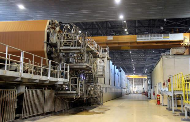 Новая бумажная фабрика SFT Group установила рекорд