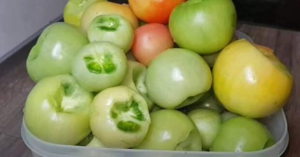 Маринованные зелёные помидоры на зиму. Отличное угощение к любому столу 2