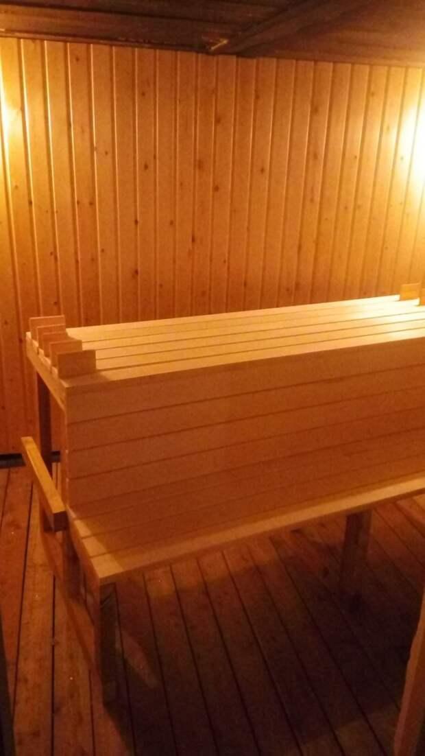 Липа - очень благородная древесина. Работать с ней очень приятно. баня, своими руками, сделай сам