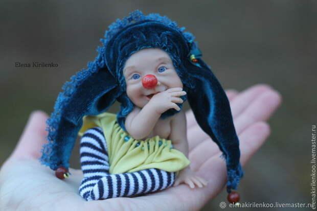 Куклы, глядя на которые невозможно не улыбнуться. Автор создатель Елена Кириленко. Россия, Псков.