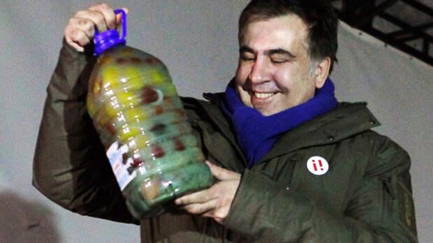 Галстуки к бою: Бессмертный Саакашвили против Авакова