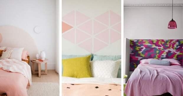 Изголовье с росписью: лучшая идея украшения, которая легко изменит настроение вашей спальни