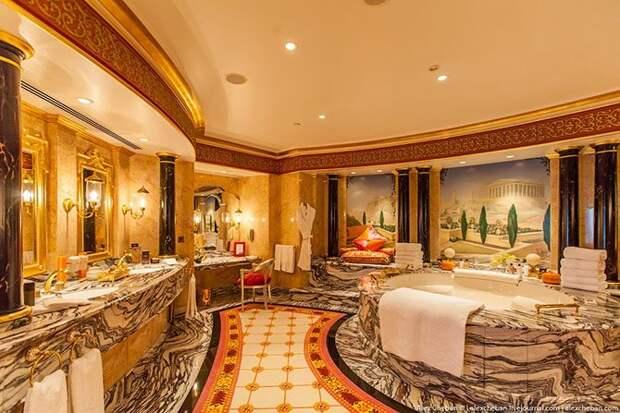 Шик, блеск, красота: самый дорогой номер в семизвездочном отеле Дубая