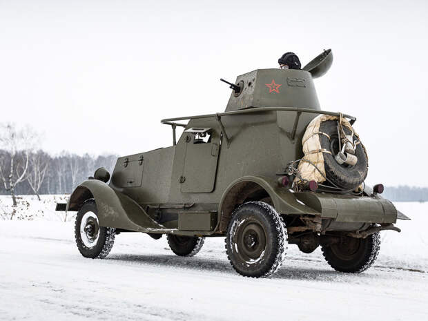 Ба-20 – легкий броневик, представитель бронеавтомобилей семейства БА