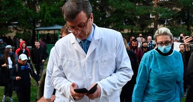 Врач Навального найден живым: но в странном состоянии